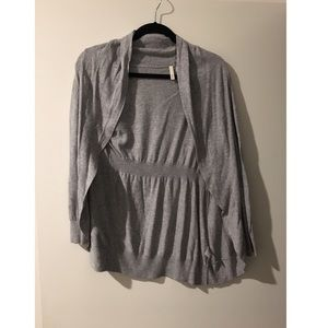 Gray Frenchi cardigan